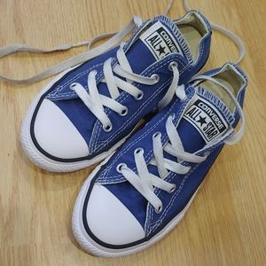 Youth 13 blue Converse sneakers